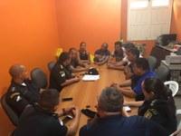 REUNIÃO COM O COMANDO DA POLÍCIA MILITAR DE INTERIORIZAÇÃO COM OS VEREADORES MUNICIPAIS DE ALTO ALEGRE